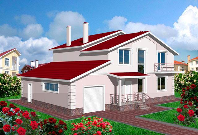 Индивидуальный жилой дом - проекты и материалы