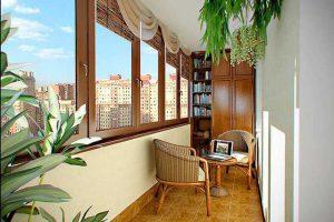 Балконный интерьер: варианты для воплощения в жизнь