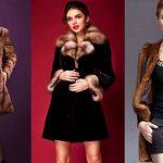 Норковая шуба: виды меха и фасоны