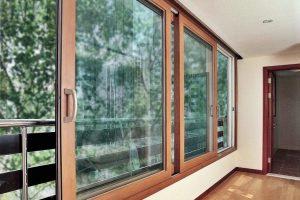 Раздвижные и распашные окна